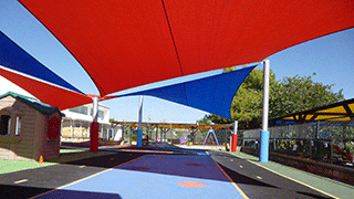 sail shades in cyprus school playground